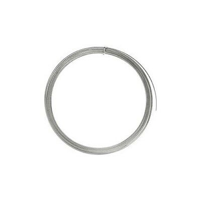 Aluminium Wire, W: 3,5 mm, thickness 0,5 mm, silver, flat, 4,5m [HOB-518345]