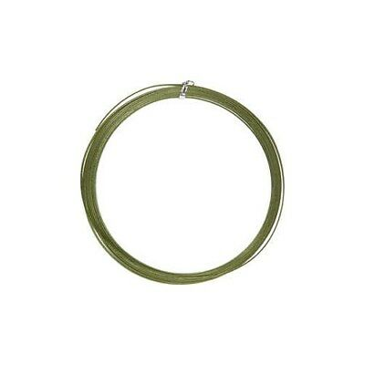 Aluminium Wire, W: 3,5 mm, thickness 0,5 mm, green, flat, 4,5m [HOB-518342]