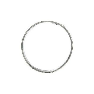 Aluminium Wire, W: 15 mm, thickness 0,5 mm, silver, flat, 2m [HOB-518335]