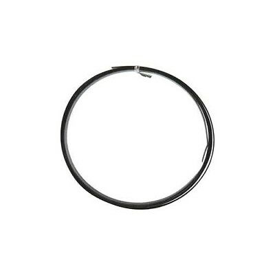 Aluminium Wire, W: 15 mm, thickness 0,5 mm, black, flat, 2m [HOB-518331]