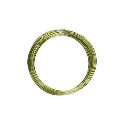 Aluminium Wire, thickness 2 mm, green, round, 10m [HOB-518322]