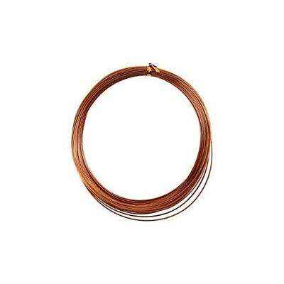 Aluminium Wire, thickness 1 mm, copper, round, 16m [HOB-518316]