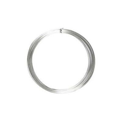 Aluminium Wire, thickness 1 mm, silver, round, 16m [HOB-518315]