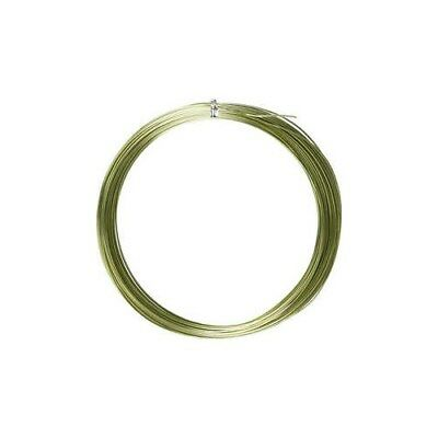 Aluminium Wire, thickness 1 mm, green, round, 16m [HOB-518312]