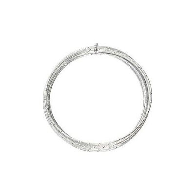 Aluminium Wire, thickness 2 mm, silver, diamond-cut, 7m [HOB-518305]