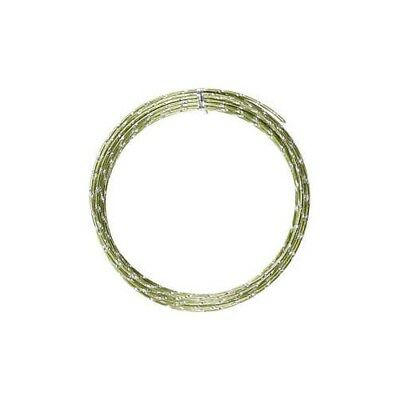 Aluminium Wire, thickness 2 mm, green, diamond-cut, 7m [HOB-518302]