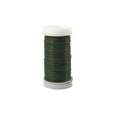 Florist Wire, thickness 0,31 mm,  100 g, green, 160m [HOB-51728]