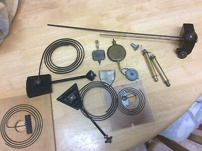 Clock Parts - Mixed Job Lot Of Chimes, Pendulums Etc