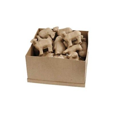 Polar Animals, H: 10-12 cm, 35pcs [HOB-51049]