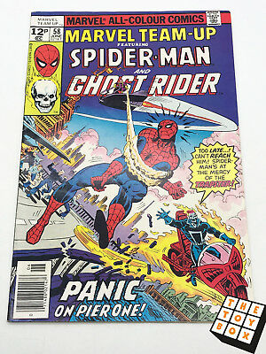 Vintage Marvel Comic Book Team-up Spider-Man and Ghost Rider # 59 1977