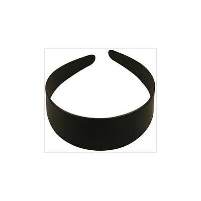 Hair Band, W: 48 mm, black, 20pcs [HOB-47417]
