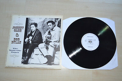 Johnny Cash & Bob Dylan , The Nashville Tapes , CBS-UK, Demo-Copy