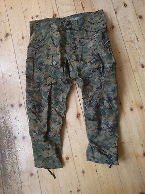 Original USMC Trousers, all-purpose enviromental camouflage marpat woodland XL-R