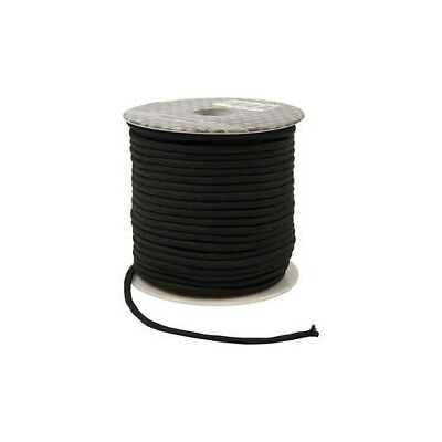 Polyester Cord, thickness 4 mm, black, 40m [HOB-41579]