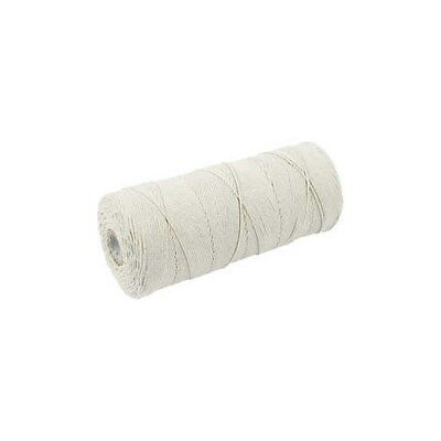 Cotton Twine, L: 315 m, thickness 1 mm, light natural, Thin quality 12/12, 220g