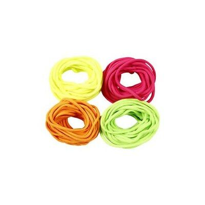 Polyester Cord, thickness 4 mm, neon colours, 4x5m [HOB-415560]