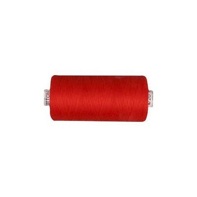 Sewing Thread, red, cotton, 1000m [HOB-41285]
