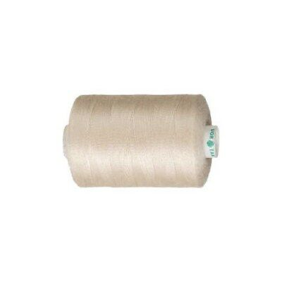 Sewing Thread, beige, polyester, 1000m [HOB-41215]