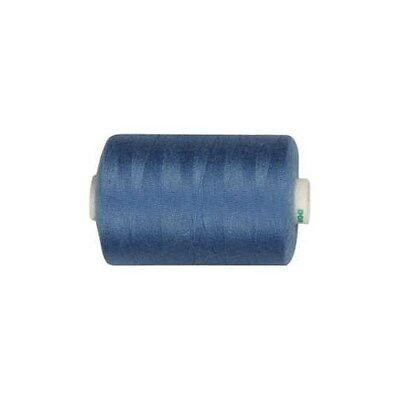 Sewing Thread, mid-blue, polyester, 1000m [HOB-41209]
