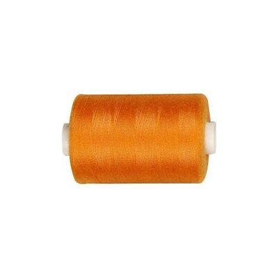 Sewing Thread, orange, polyester, 1000m [HOB-41201]