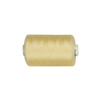 Sewing Thread, yellow, polyester, 1000m [HOB-41202]