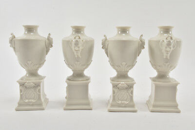 a09y15- 4x Nymphenburg Porzellanvase