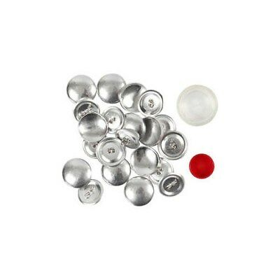 DIY Covered Buttons, D: 22 mm, 12pcs [HOB-40415]