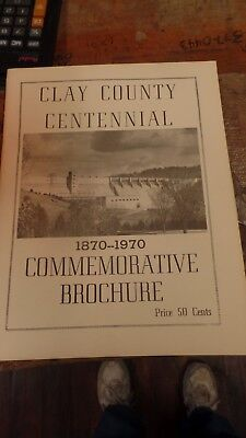 1970 Clay County Tennessee Contennial-Commemorative Brochure