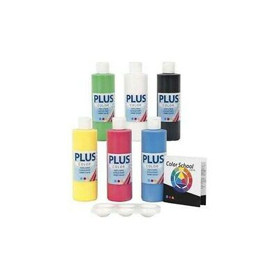 Plus Color Craft Paint - Color School, primary colours, Color school guidiance i