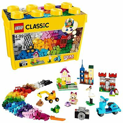 LEGO 10698 Classic Large Creative Brick Box Construction Set, Toy Storage, Fu...