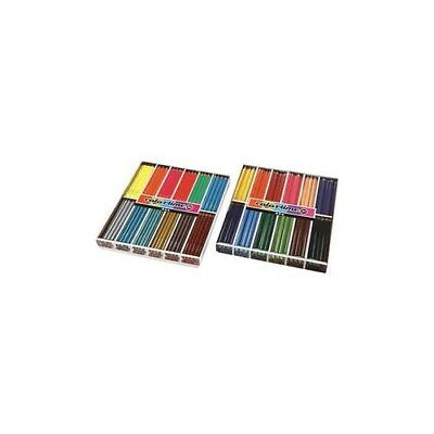 Colortime colouring pencils, lead: 4+5 mm, asstd colours, 288pcs [HOB-38075]