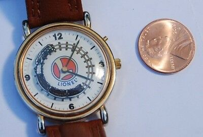 collectible Lionel animated train watch