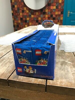 *24hr Auction* Sainsburys Lego Cards Incredible inventions full Box 300 Packs