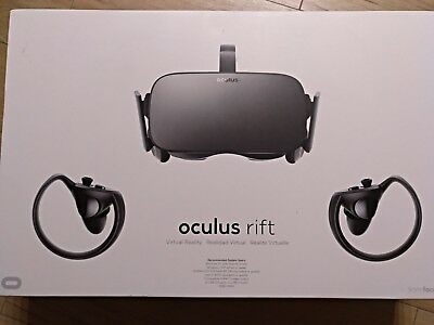 Oculus Rift Virtual Reality Headset Touch Motion-Controller Bundle + Spiele
