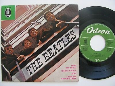 The Beatles Twist and Shout EP O 41560