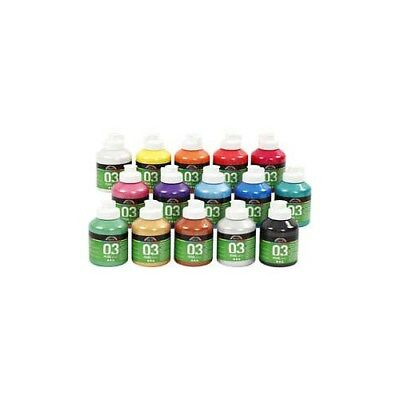 A-Color Acrylic Paint, asstd colours, 03 - metallic, 15x500ml [HOB-32200]