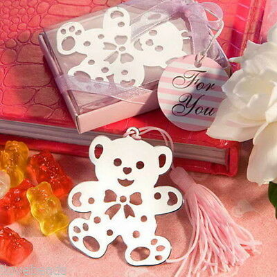 1PC Stainless Steel Cubs Bookmark Silver Tone Present Gift