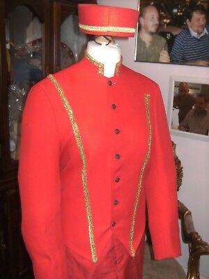 Pantomime Mens Buttons Costume By Homburgs Theatre Panto Show Stage Am Dram