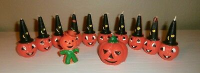 Lot Of 12 Vintage Gurley Halloween Candles