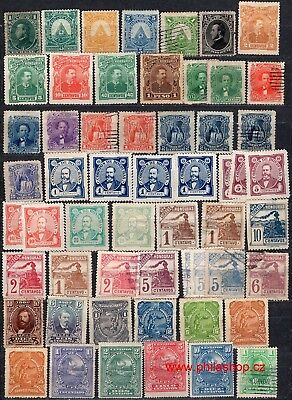 Honduras, 75+ used, MH or Wg stamps