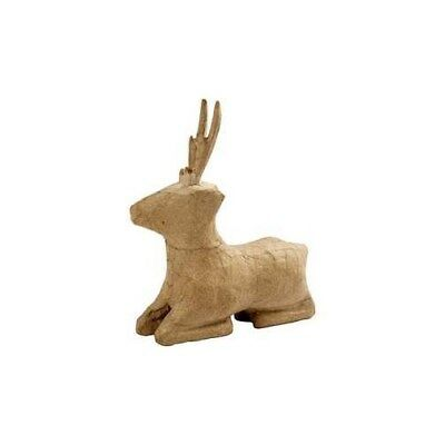Roe Deer, laying, H: 18 cm, 1pc [HOB-26679]