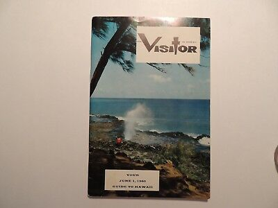 The Visitor in Hawaii vintage guide booklet 1960