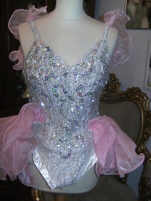 Vintage Ladies Showgirl Costume Saint John Roper Ltd Theatre Show Stage Costume