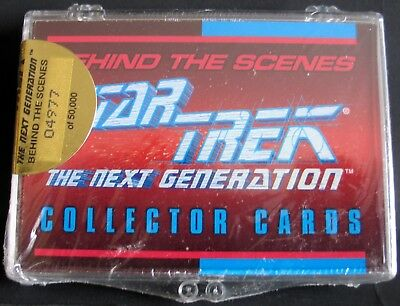 Star Trek Next Generation Behind The Scenes Collectors Cards #04977 Sealed MIB