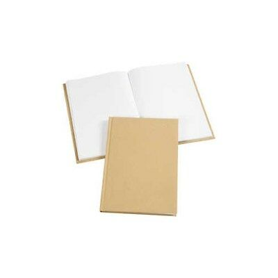 Sketchbook, A5 15x21 cm, thickness 8 mm, brown, 1pc [HOB-26367]