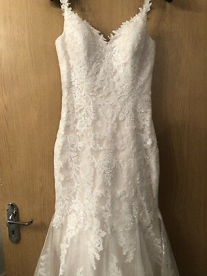 wedding dress size 8-10 used