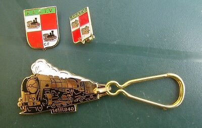 Collection Porte Clefs Broches Sncf Train