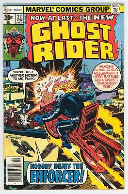 Ghost Rider (1973) #22 FN 6.0 First Appearance of the Enforcer