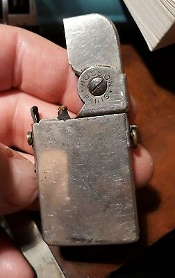 Rare briquet a essence HUSSON PARIS vers 1930