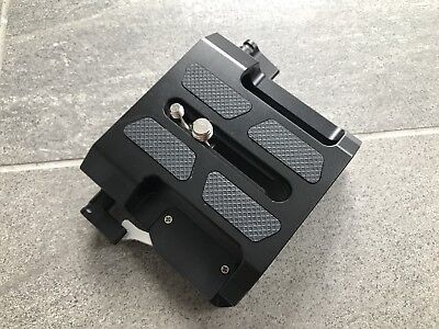 SmallRig Arri Baseplate with Dual 15mm Rod Clamp Bridge plate 1642